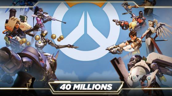 Overwatch : Blizzard annonce 40 millions de joueurs