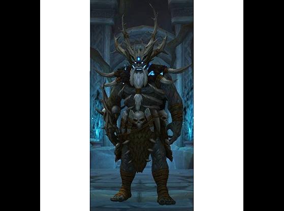 Gorak Tul, leader du peuple Drust - World of Warcraft