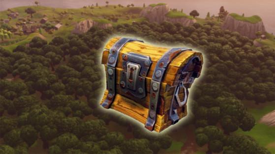 fortnite tous les coffres de wailing woods - emplacement des coffres fortnite