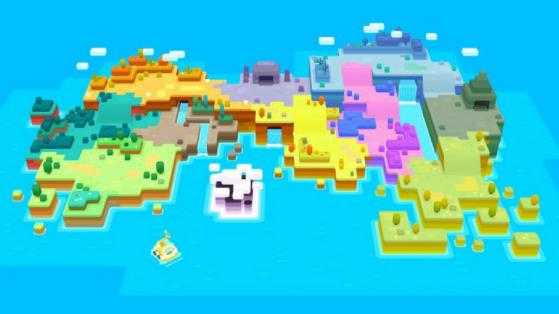 Pokémon Quest : toutes les zones de l'île Trois-Dès