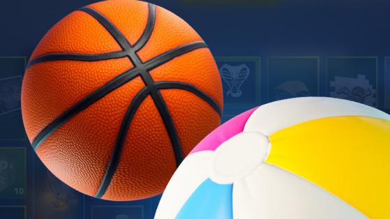 Fortnite : jouets, basket, volley et golf