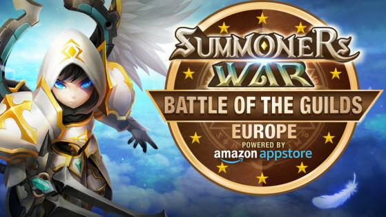 Summoners War : Battle of the Guilds Europe sponsorisé par Amazon Appstore