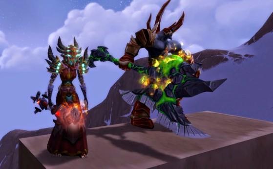 Sérieusement, cette hache a vraiment l'air d'infliger des dégâts d'Ombre ? - World of Warcraft