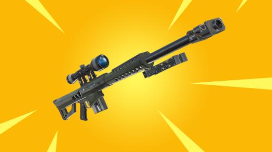 Fortnite Fusil De Sniper Lourd Nouvelle Arme Millenium