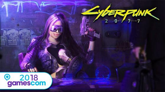 Gamescom 2018 : Cyberpunk 2077 en 4 images