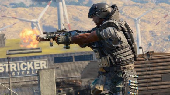 Black Ops 4 : armures Blackout