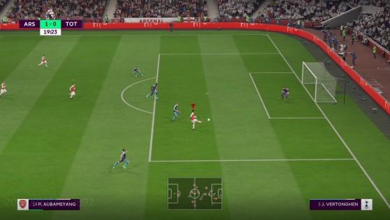 et rouge pour un mauvais timing - FIFA