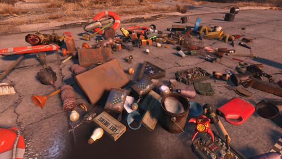 Le junk, ça ressemble à ça (image tirée de Fallout 4). - Fallout 76