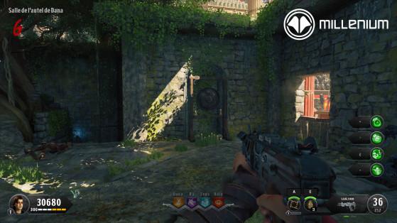 Autel de Dana - Call of Duty