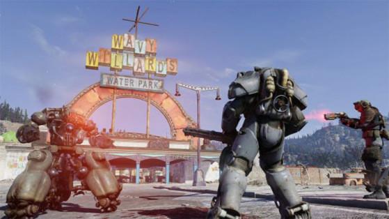 Ouverture serveur, Fallout 76