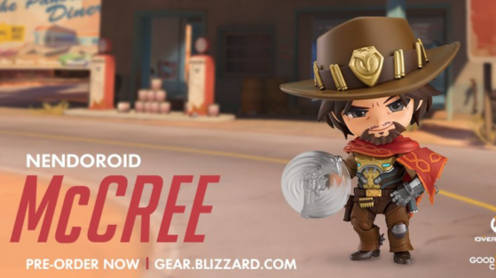 Overwatch goodies : figurine Nendoroid McCree