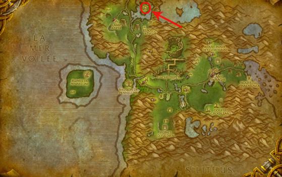 Localisation d'Emeriss - World of Warcraft