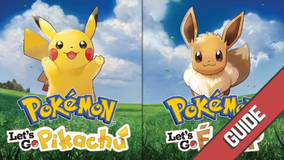 Soluce Pokémon Let's GO Pikachu Évoli - Pokémon exclusifs à chaque version