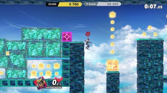 Les bonus stage font revenir en nous la nostalgie des premiers épisodes. - Super Smash Bros. Ultimate