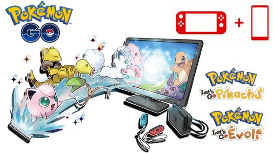 Pokémon Let's GO : Comment connecter Pokémon GO à la Switch