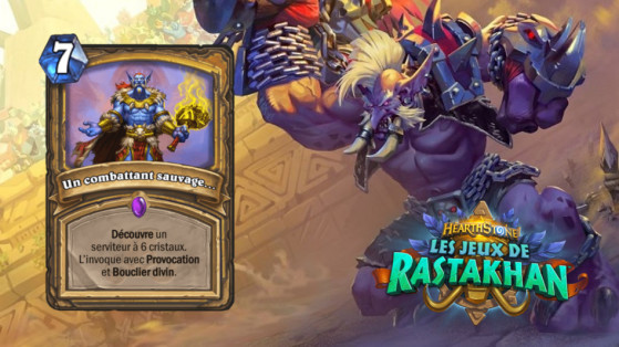 Hearthstone Les Jeux de Rastakhan : A New Challenger