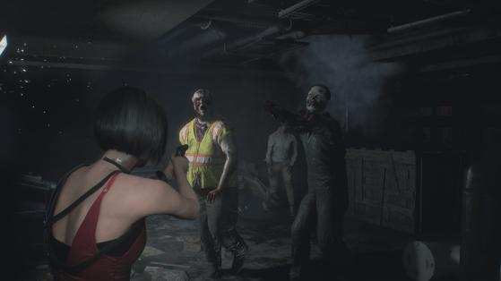 Même trois zombies peuvent être une menace. - Millenium