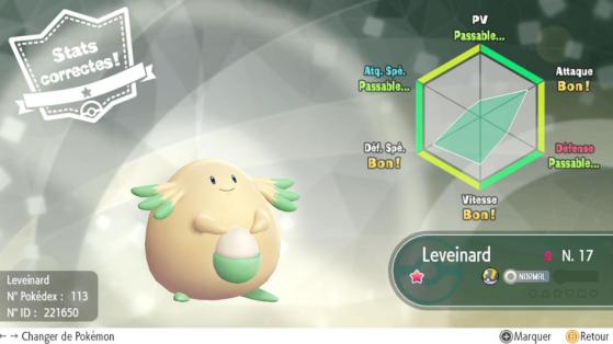 Pokemon Let's GO : Leveinard Shiny