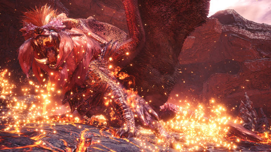 Monster Hunter World : Teostra Alpha Suprême sur PC