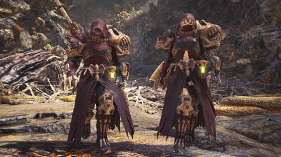 Armure spéciale : Étreinte putride - Monster Hunter World