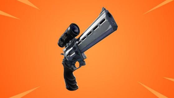 Fortnite : revolver à lunette, nouvelle arme