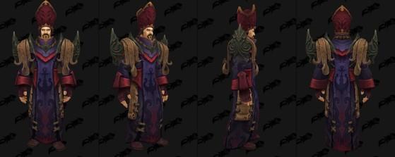 Tenue cérémonielle des Eaugures - World of Warcraft