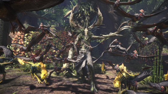 Guide Monster Hunter World : Witcher 3 - Vieux Leshen, Ancient Leshen