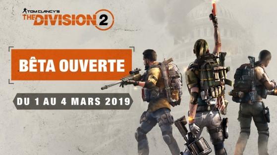 The Division 2 : Bêta ouverte, toutes les infos, open beta