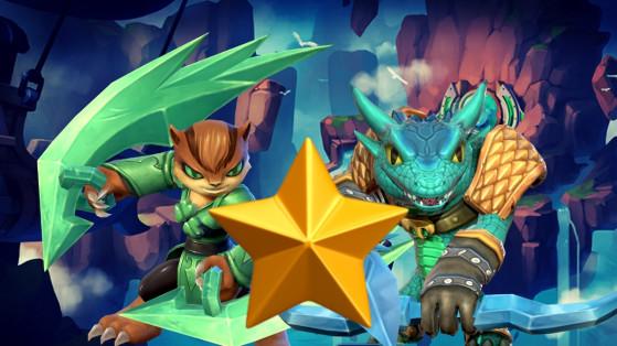 Skylanders Ring of Heroes : Tier list Nat 1, meilleurs monstres une étoile