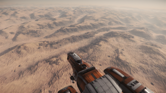 Les nombreux canyons de Daymar - Star Citizen