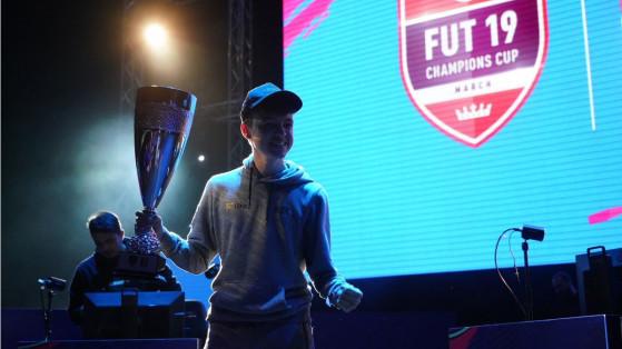 FIFA 19 : F2Tekkz champion de la FUT Champions Cup de mars