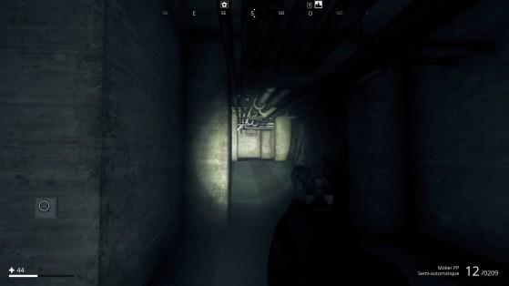 À chaque fois que vous trouverez un bunker, il faudra parcourir de longs et sombres couloirs pour rallumer le générateur (et donc la lumière). Et il faudra le refaire à chaque fois que vous relancez la partie. - Millenium