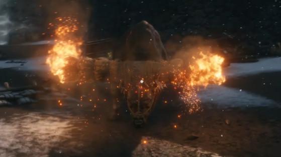 Guide Sekiro : Taureau enflammé, flaming bull, boss, soluce, astuce