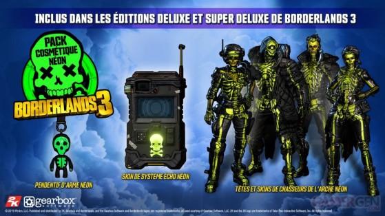 Le pack néon - Borderlands 3