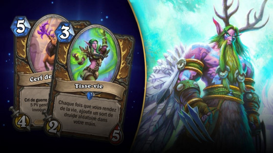 Hearthstone : deck Druide Heal L'Eveil des Ombres (Rise of Shadows)