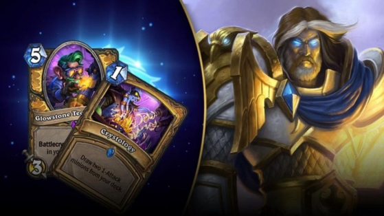 Hearthstone : deck Paladin Méca L'Eveil des Ombres (Rise of Shadows)