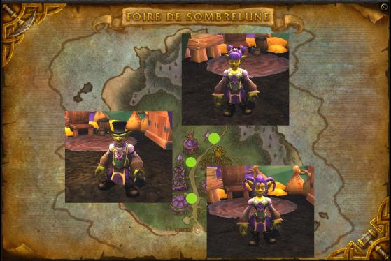 Zina Tranchevif, Sazz Attrape-Pièces et Trixi Tranchevif (de haut en bas) - World of Warcraft