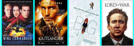 Les quelques films produits par Chris Roberts - Star Citizen