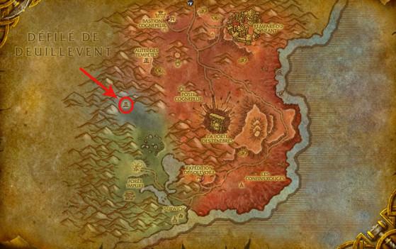 Localisation du Seigneur Kazzak - World of Warcraft