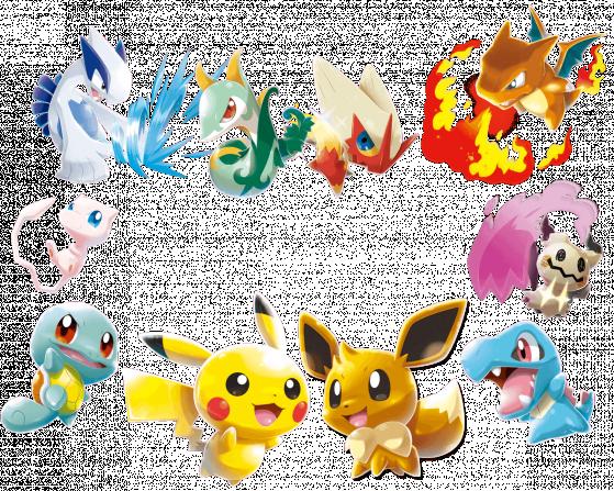 Visuels HD des Pokemon de Pokemon Rumble Rush. - Pokemon GO