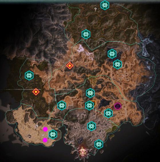 Rage 2 : Carte des arches - Rage