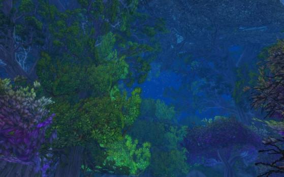 La contemplation, ne vous en faites pas, vous n'aurez pas le choix, puisque comme tout le monde, vous vous perdrez à un moment ou un autre. - World of Warcraft