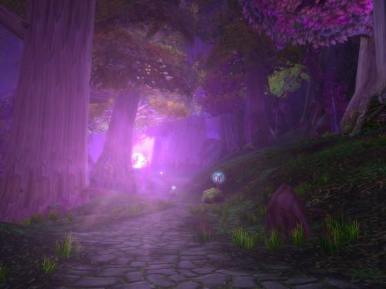 Est-ce que je vous ai dit que cette zone était BELLE ?! - World of Warcraft