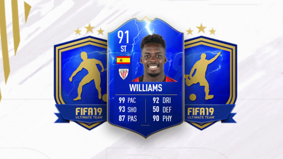FUT 19 TOTS : DCE Inaki Williams, solutions
