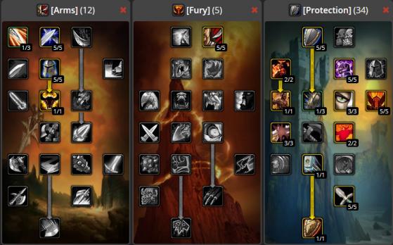 Build débutant PvE (12/5/34) - WoW : Classic