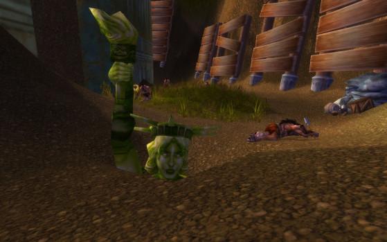 L'Excavation Baguefer, c'est aussi une petite dose de références un peu étranges... - World of Warcraft