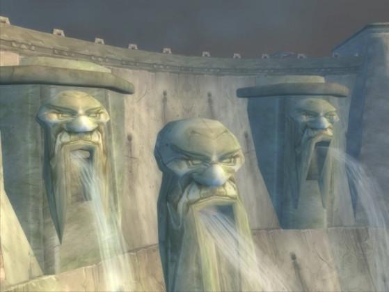Ôtez-moi un doute : le Barrage de Formepierre représentait bien des vieux Nains qui nous crachaient dessus ? - World of Warcraft