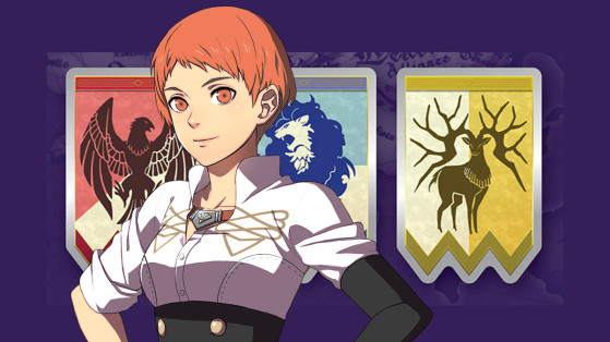 Fire Emblem Three houses : Leonie Pinelli, élève, infos