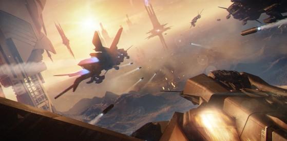 C'est lors de la Première Guette Tevarin que la marque Aegis fût remarque pour la fiabilité de ces vaisseaux et notamment le Retaliator. - Star Citizen