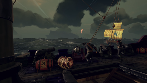Sea of Thieves : guess for gold, cannonballs